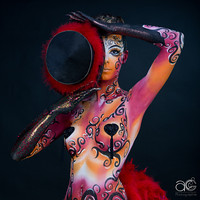 Body-painting